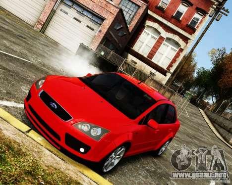 Ford Focus 2008 para GTA 4 visión correcta