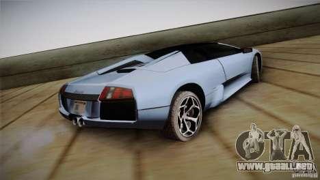 Lamborghini Murcielago Roadster para GTA San Andreas left