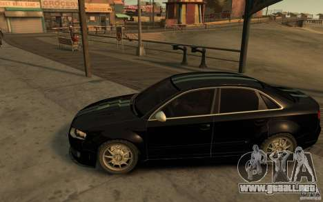 Audi RS4 para GTA 4 left