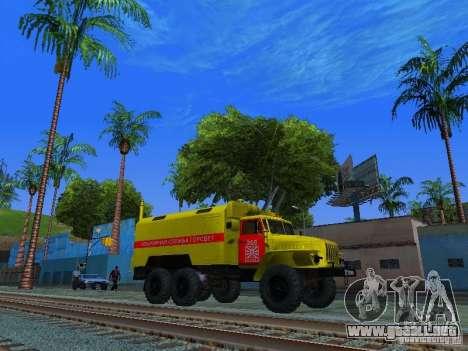 Ural 4320 GORSVET para la visión correcta GTA San Andreas