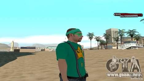 Skin Pack The Rifa Gang HD para GTA San Andreas tercera pantalla
