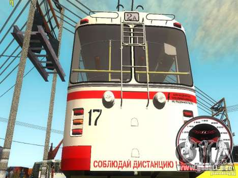ZiU 682B para GTA San Andreas left