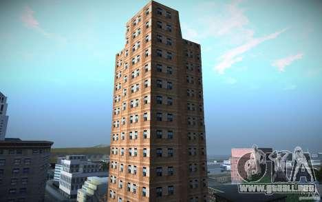 Rascacielos de HD para GTA San Andreas tercera pantalla