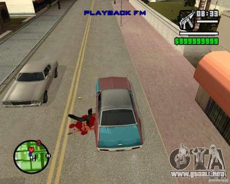 Change Hud Colors para GTA San Andreas séptima pantalla