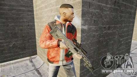 RSASS de MW3 (francotirador) para GTA 4