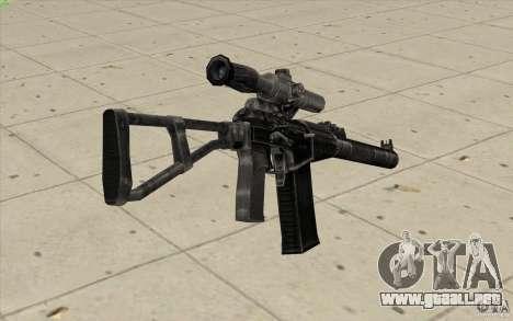 Como Rifle de asalto de Val para GTA San Andreas segunda pantalla