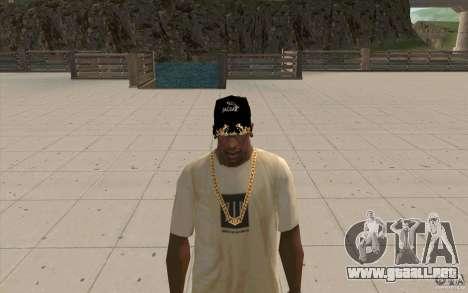 Jaguar Cap para GTA San Andreas segunda pantalla
