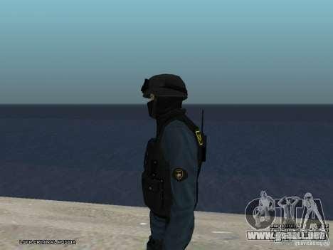 Oficial de policía antidisturbios para GTA San Andreas séptima pantalla