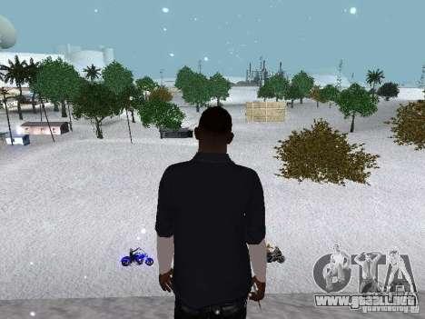 Snow MOD 2012-2013 para GTA San Andreas undécima de pantalla
