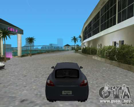 Porsche Panamera para GTA Vice City vista lateral izquierdo