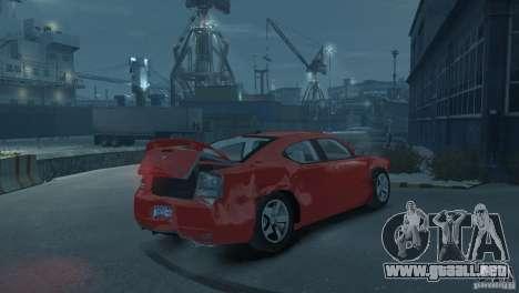Dodge Charger 2007 SRT8 para GTA 4 left