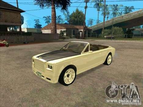 GTA 4 TBOGT Super Drop Diamond para GTA San Andreas