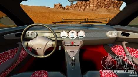 Daewoo Joyster Concept 1997 para GTA 4 vista hacia atrás