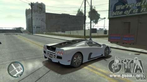 Shelby Super Cars Ultimate Aero para GTA 4 left