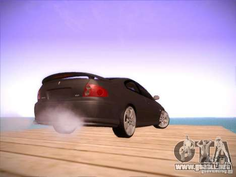 Pontiac FE GTO para GTA San Andreas vista hacia atrás