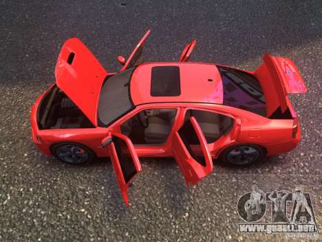 Dodge Charger SRT8 2006 para GTA 4 Vista posterior izquierda