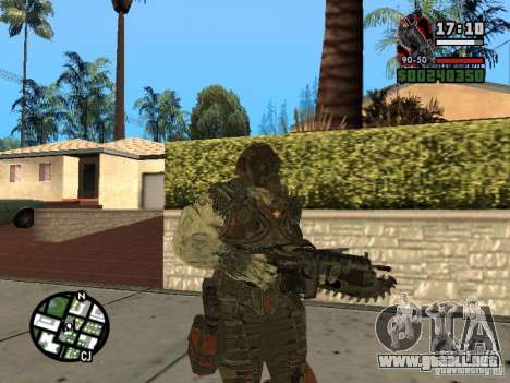 Lokast Grunt de Gears of War 2 para GTA San Andreas