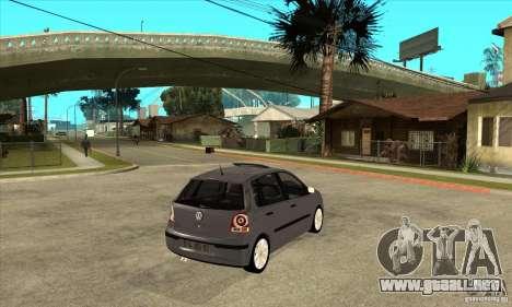 Volkswagen Polo 2008 para la visión correcta GTA San Andreas
