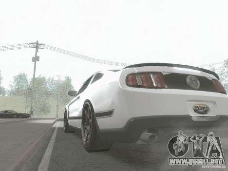 ENBSeries by Shake para GTA San Andreas segunda pantalla