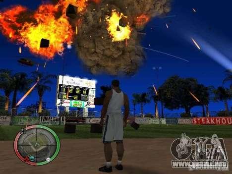 RAIN OF BOXES para GTA San Andreas sexta pantalla