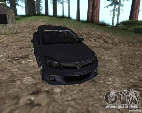 Vauxhall Astra VXR para la visión correcta GTA San Andreas