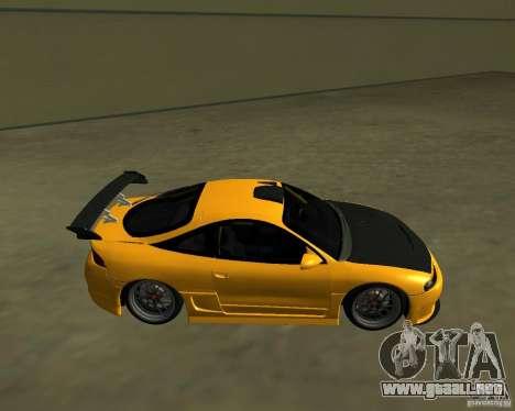 Mitsubushi Eclipse GSX tuning para GTA San Andreas left
