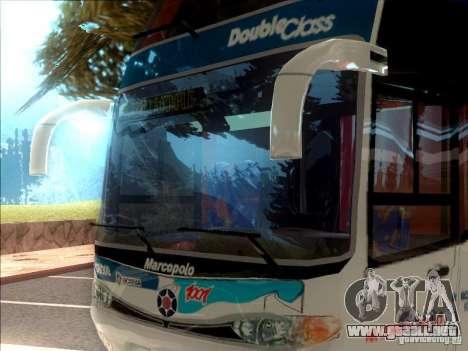 Marcopolo Paradiso 1800 G6 8x2 SCANIA para GTA San Andreas left