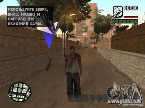 Markus young para GTA San Andreas sucesivamente de pantalla