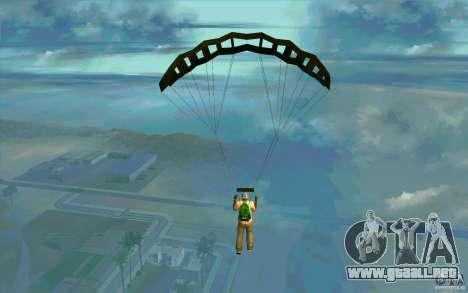 Paracaídas militar para GTA San Andreas segunda pantalla