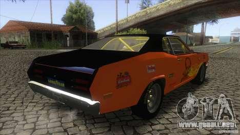 Plymouth Duster 440 para la visión correcta GTA San Andreas