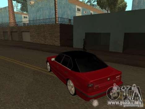 BMW 540i E34 para la visión correcta GTA San Andreas
