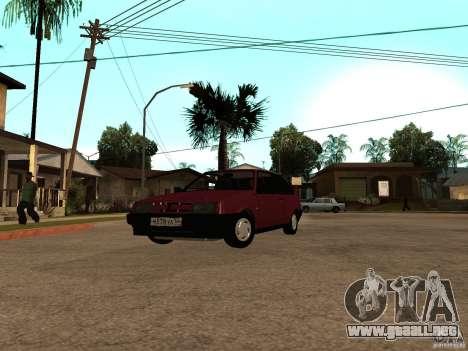 VAZ 2108 drenaje para GTA San Andreas