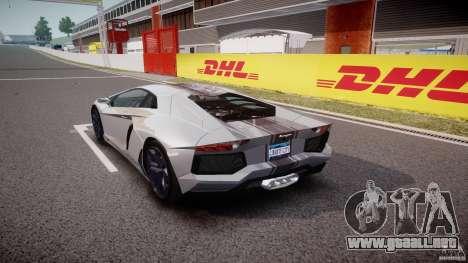 Lamborghini Aventador LP700-4 2011 [EPM] para GTA 4 Vista posterior izquierda