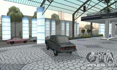 ZAZ 968 m andrajosos para GTA San Andreas left