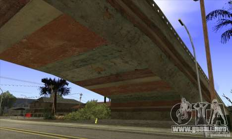 Grove Street Retextured para GTA San Andreas sucesivamente de pantalla