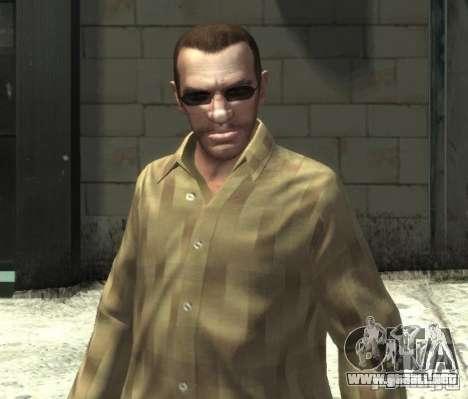 Nuevas gafas para Niko-oscuro para GTA 4