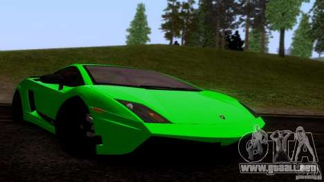 Lamborghini Gallardo LP570-4 Superleggera para GTA San Andreas left
