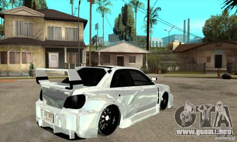 Subaru Impreza Tunned para la visión correcta GTA San Andreas