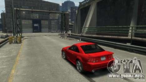 SALEEN S281 para GTA 4 visión correcta