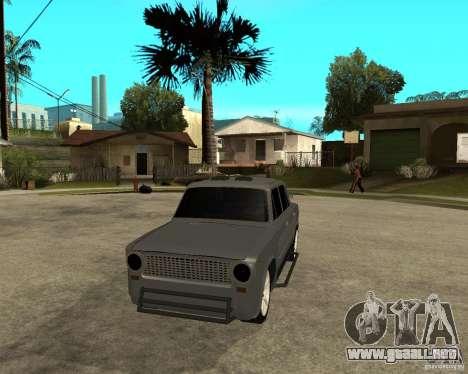 VAZ 2101 duro ajuste para GTA San Andreas vista hacia atrás