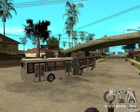 LIAZ 6213.20 para GTA San Andreas vista posterior izquierda
