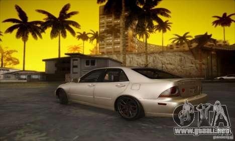Lexus IS 300 para la visión correcta GTA San Andreas