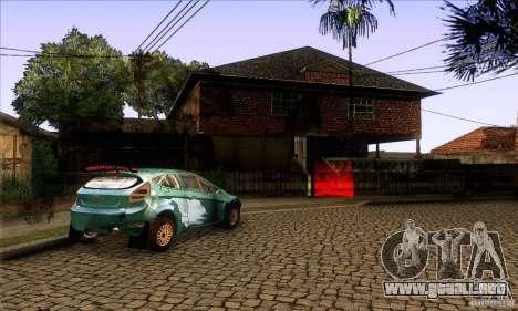 Grove Street Retextured para GTA San Andreas quinta pantalla