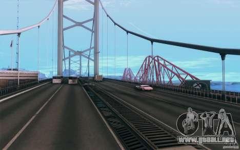 iCEnhancer V3 para GTA San Andreas sucesivamente de pantalla