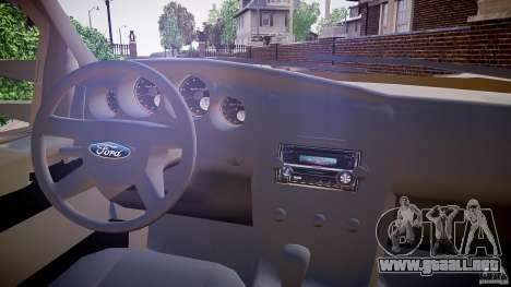 Ford F-350 Unmarked [ELS] para GTA 4 vista hacia atrás
