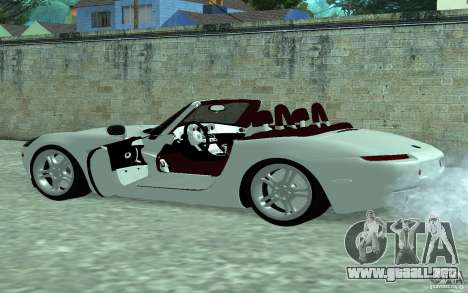 BMW Z8 para GTA San Andreas left
