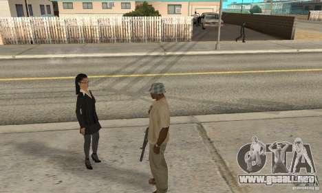 Hipnosis en San Andreas para GTA San Andreas segunda pantalla