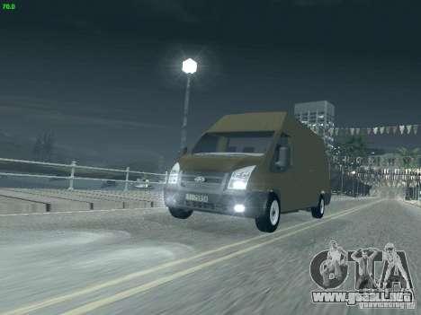 Ford Transit Jumbo 350L 2009 para GTA San Andreas