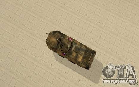 BTR-90 para la visión correcta GTA San Andreas