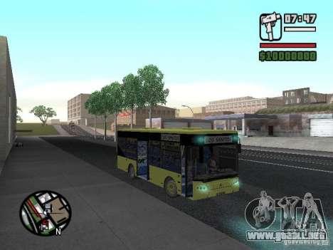 LAZ A099 (SitiLAZ 8) para GTA San Andreas vista hacia atrás